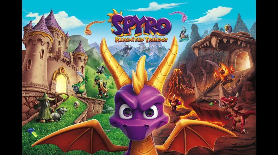 Spyro Reignited Trilogy é adiado para novembro: