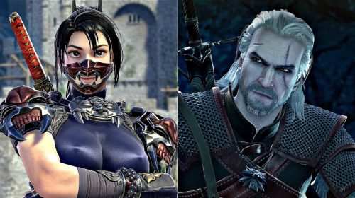 Geralt e outros lutadores se estapeiam em novos vídeos de SoulCalibur VI
