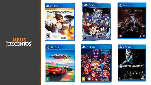 Hora de Economizar! Veja os melhores preços em jogos de PS4