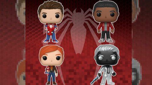 Funko Pop anuncia bonequinhos de Spider-Man; confira modelos