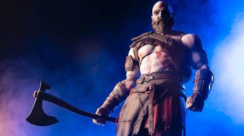 God of War: nova action-figure de Kratos é anunciada na Comic-Con