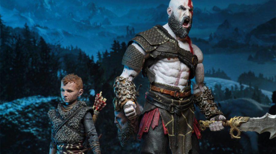 God of War: NECA vai lançar novas action figures de Kratos e Atreus