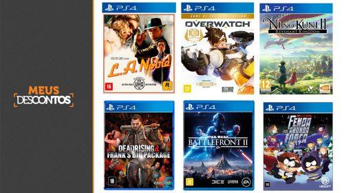 Por tempo limitado! FNAC oferece diversos jogos de PS4 com descontos