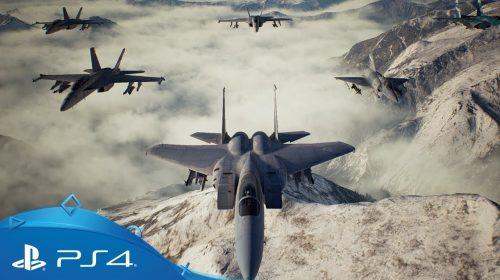 Ace Combat 7: dois gameplays destacam intensidade das missões; assista