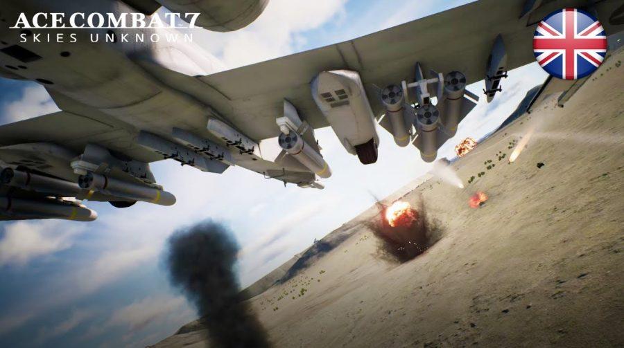 Ace Combat 7 ganha nova data de lançamento: 18 de janeiro