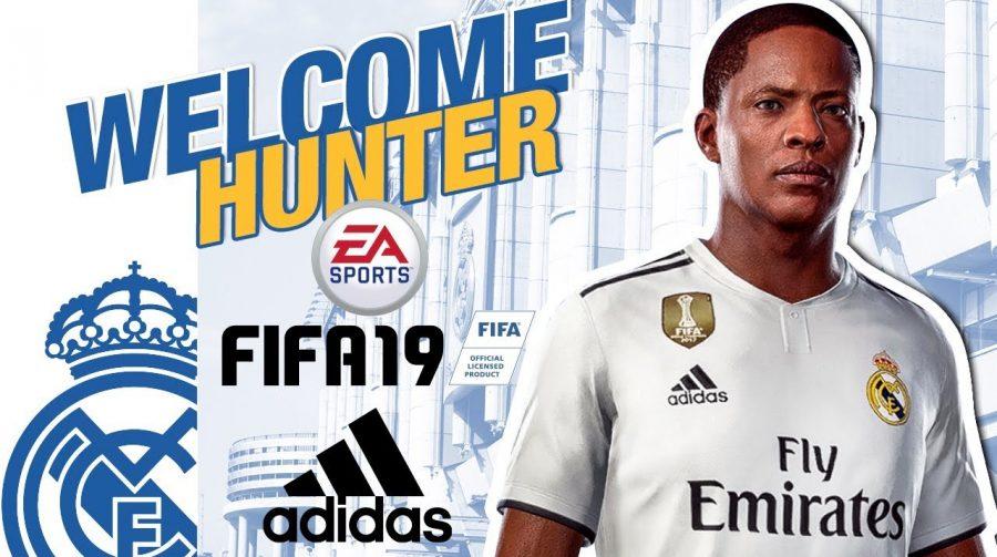 FIFA 19: loja oficial do Real Madrid vende camisas de Alex Hunter