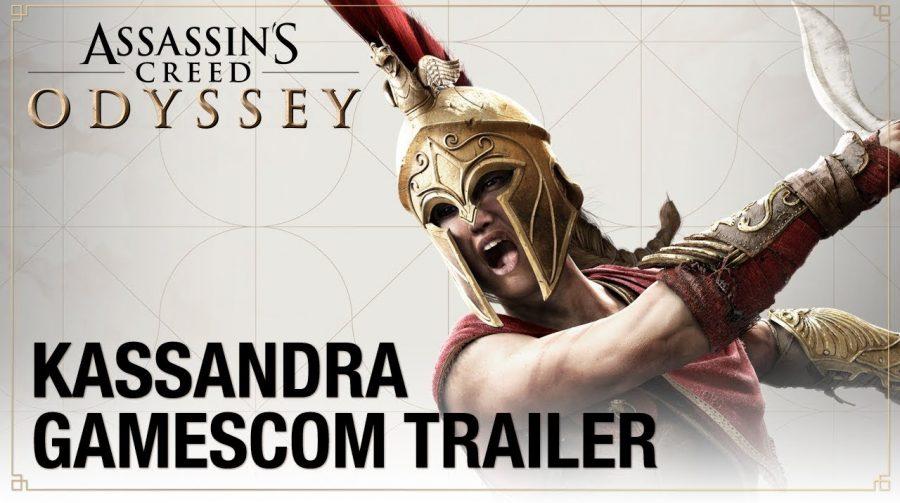 Assassin's Creed Odyssey ganha novos trailers na Gamescom; assista