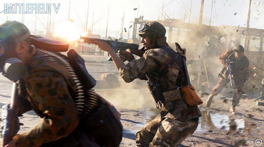 Explosivo! DICE revela novo trailer arrasador de Battlefield V