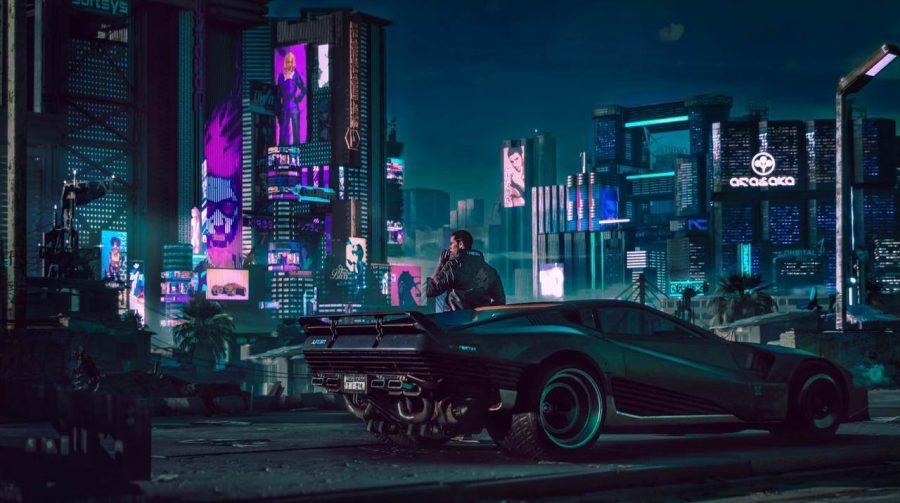 Cyberpunk 2077 terá clima dinâmico e até chuva ácida