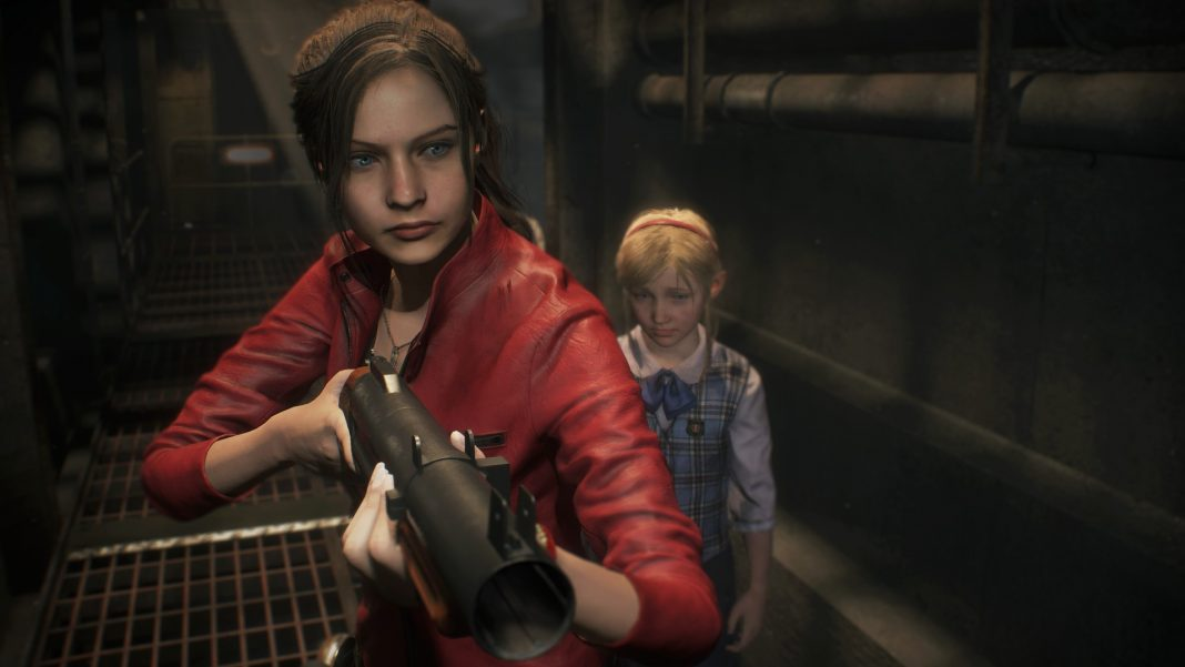 Claire Redfield_Resident Evil 2_PS4