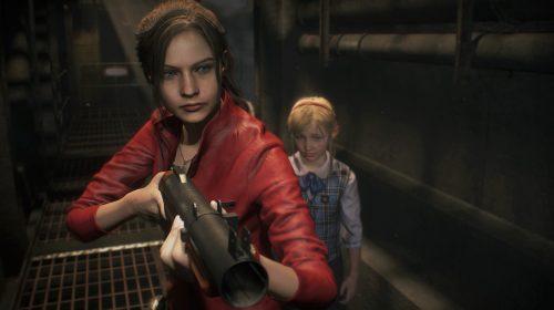Jogamos! DEMO de Resident Evil 2 com Claire une ação e emoção