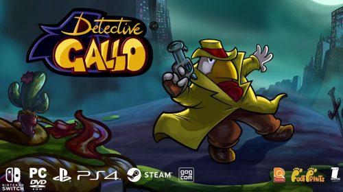 Detective Gallo, jogo de aventura, é anunciado para PS4; conheça
