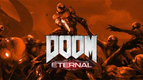 O inferno que se prepare! Gameplay de DOOM Eternal será revelado HOJE!