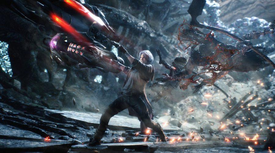 Devil May Cry 5 a 60 FPS e 4K no PlayStation 4 Pro