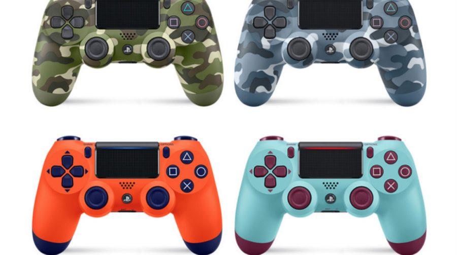 PlayStation anuncia quatro novas cores de DualShock 4; veja fotos