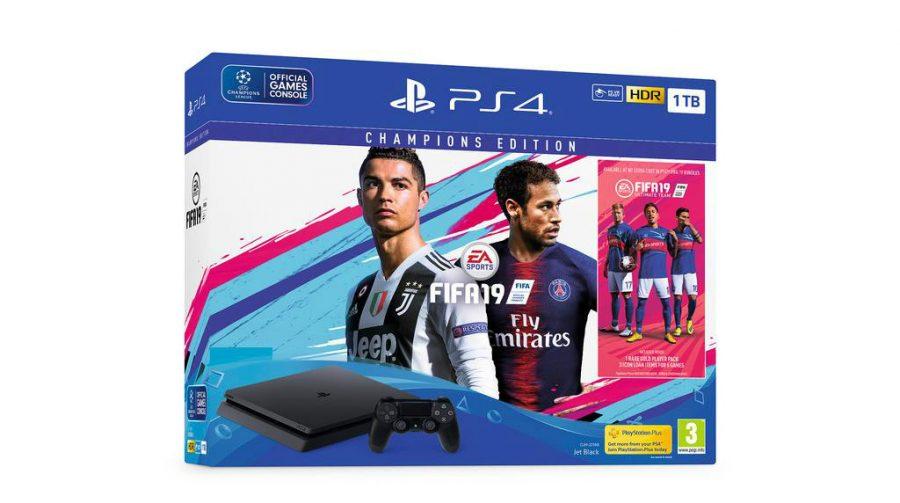Com CR7 de Juve e Neymar, Europa terá bundles de PS4 com FIFA 19