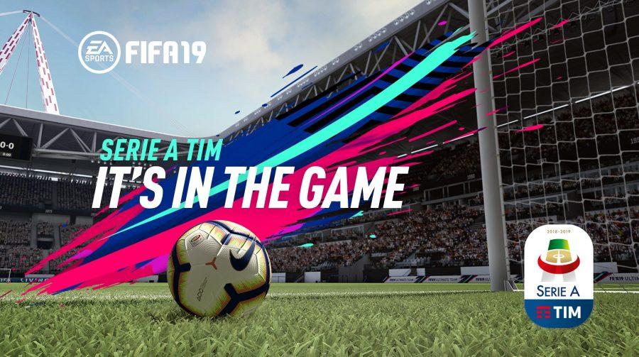 Para surpresa de absolutamente ninguém, FIFA 19 confirma Campeonato Italiano