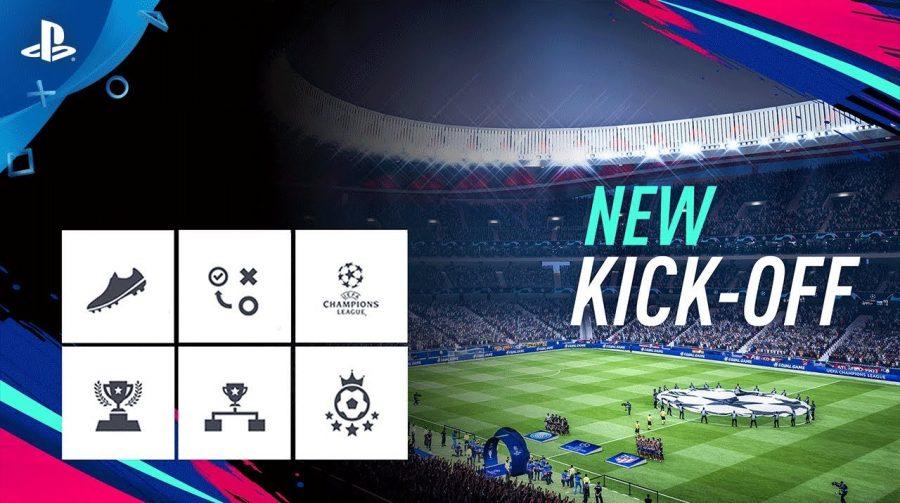 FIFA 19: trailer mostra mais detalhes do novo modo Kick-Off