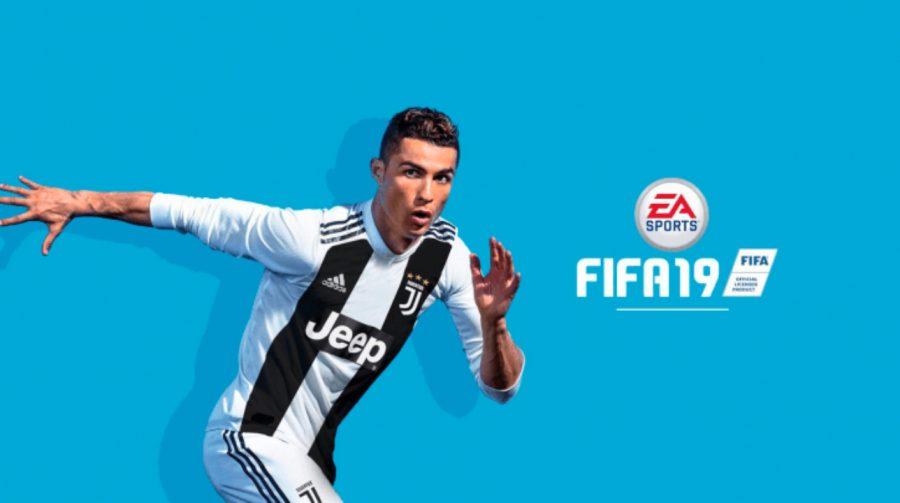 Twitter espanhol da EA divulga capa de FIFA 19 com CR7 na Juventus