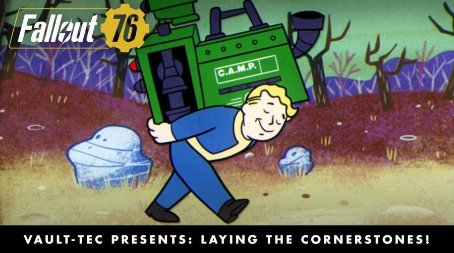 Com animação, Bethesda lança novo vídeo de Fallout 76 na Gamescom