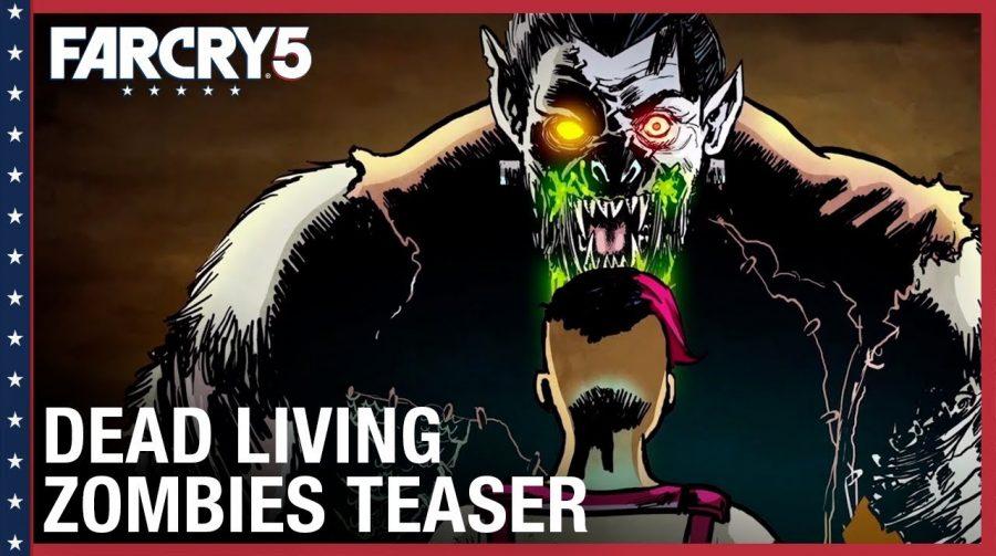 DLC de zumbis já tem data pra chegar a Far Cry 5: 28 de agosto