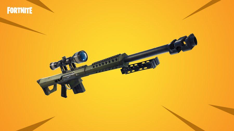 Fortnite recebe rifle de precisão pesado e Tiroteio de Atiradores de Elite