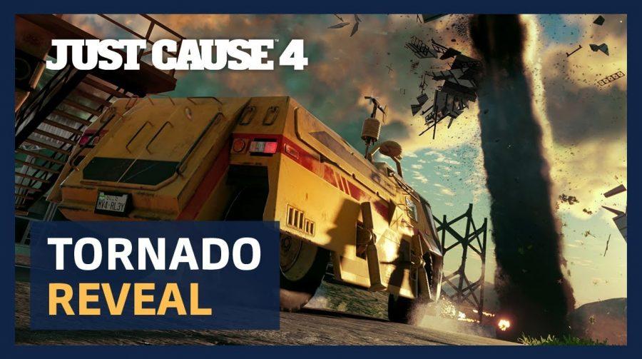 Tornado muito nervoso! Just Cause 4 ganha novo vídeo de gameplay