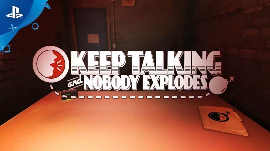 Sucesso no PSVR, Keep Talking and Nobody Explodes poderá ser jogado no PS4