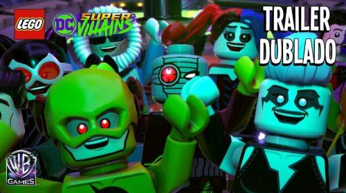 LEGO DC Super-Villains ganha trailer de história na Gamescom 2018