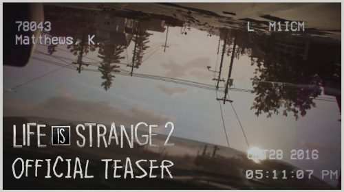 Teaser de Life is Strange 2 faz mistério para o dia 20 de agosto