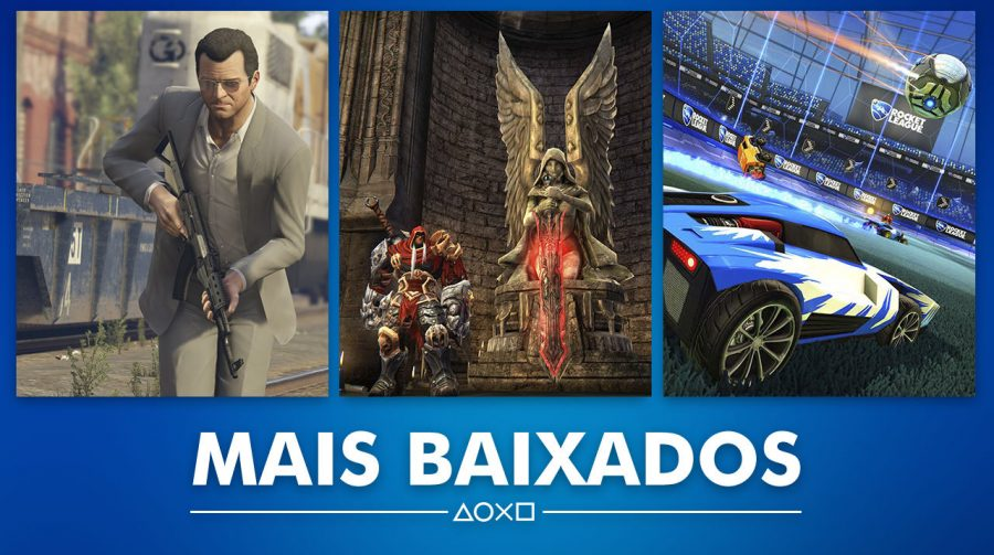 GTA V é o mais baixado do mês de julho na PlayStation Store (de novo!)