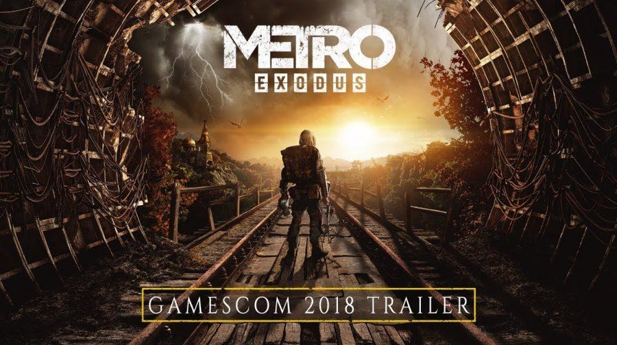 Metro Exodus ganha impressionante novo trailer com gameplay na Gamescom