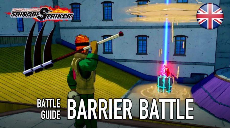 Naruto to Boruto: Shinobi Striker apresenta modo Barrier Battle