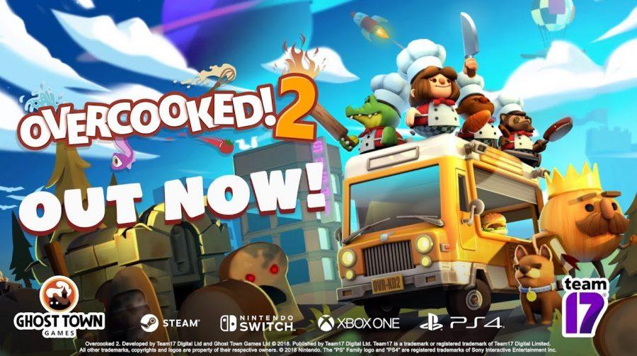 Overcooked 2 ganha trailer de lançamento; assista