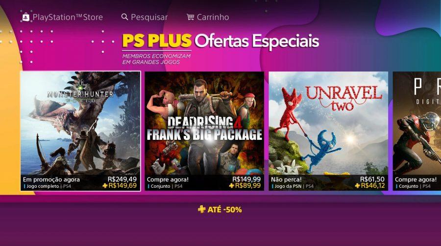 Sony oferece ofertas especiais em jogos para membros PS Plus