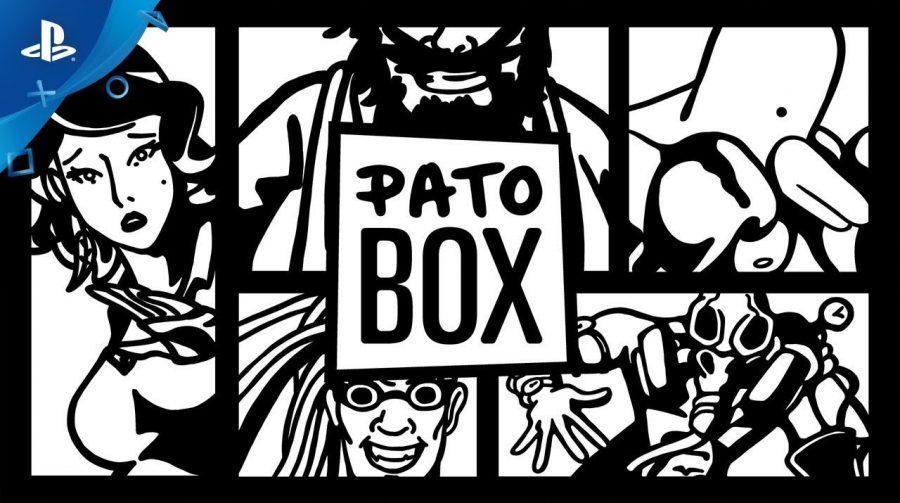 Pato Box: jogo com homem de cabeça de pato chega ao PS4 nessa semana