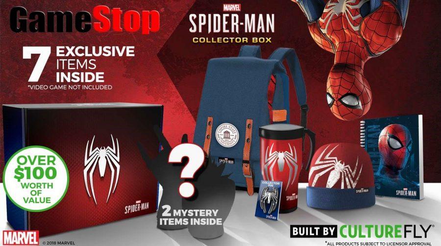 GameStop lança caixa de colecionador da PlayStation e de vários games