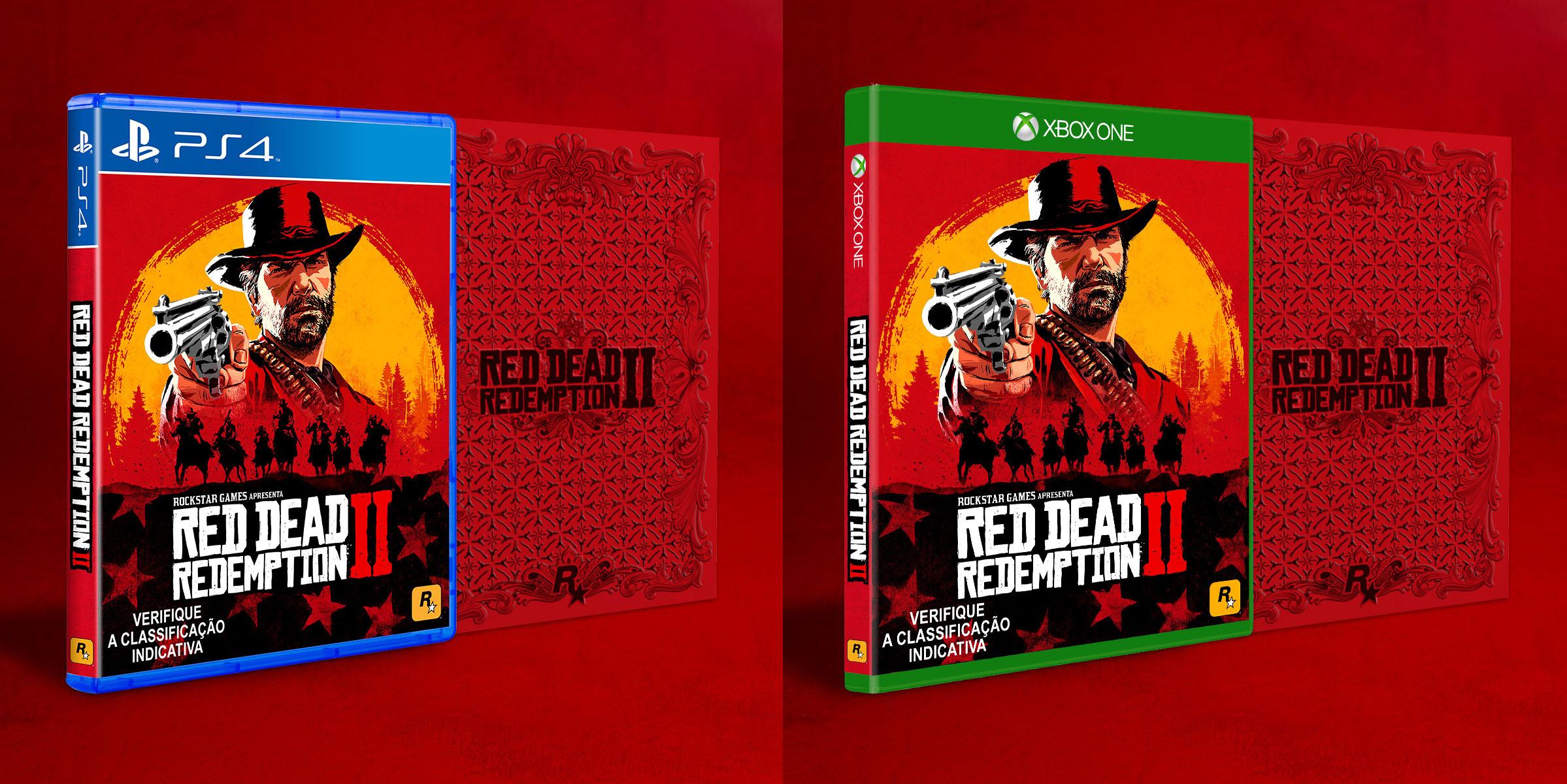Red Dead Redemption 2 chegará ao Brasil com edição especial e legendas 1