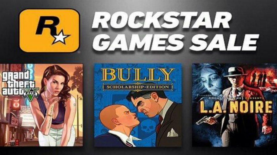 Jogos da Rockstar Games estão com descontos na PSN; confira