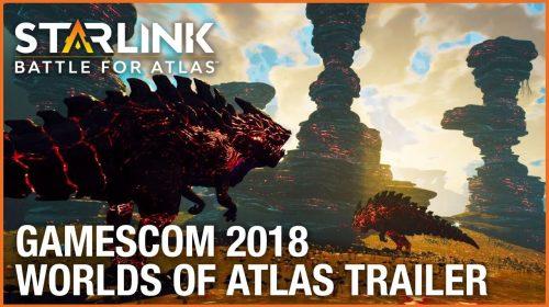 Novo trailer de Starlink: Battle for Atlas revela diversidade de mundos