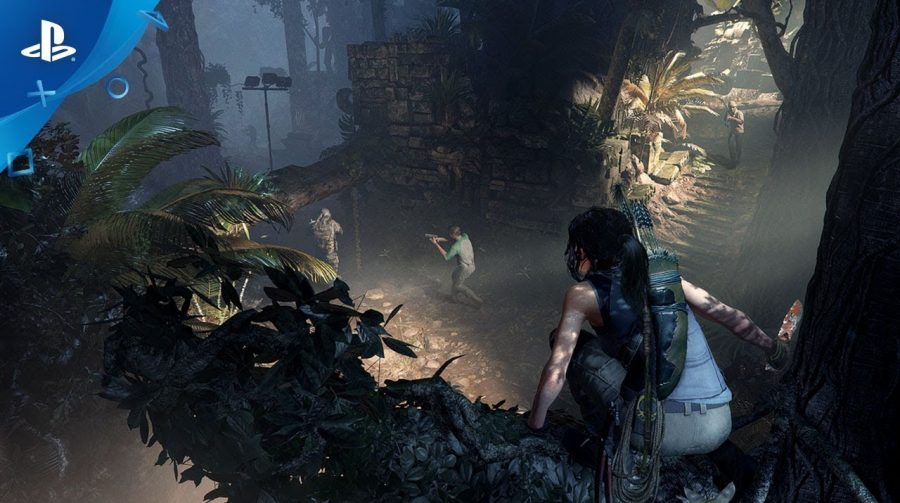 Novo gameplay de Shadow of  the Tomb Raider destaca táticas de combate