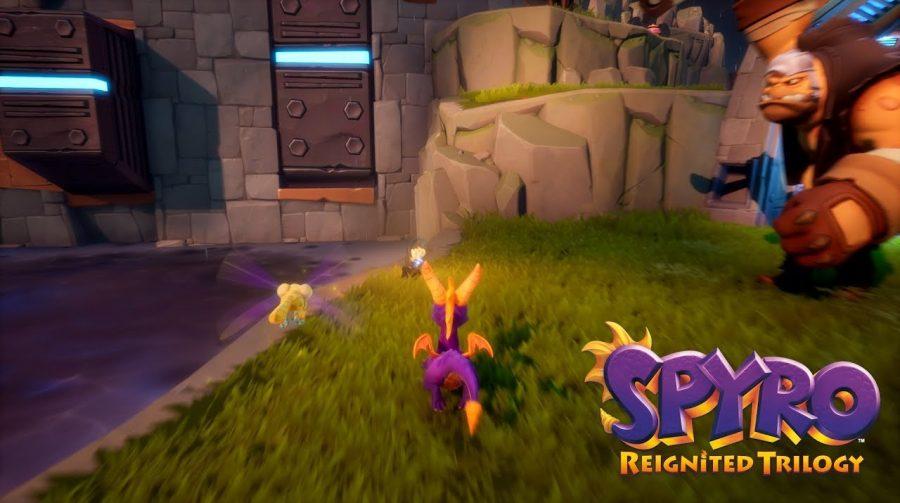 Spyro Reignited Trilogy ganha novo gameplay com fase do segundo jogo da série