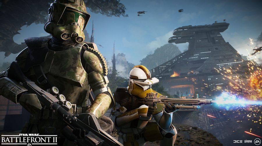 DICE planeja manter Star Wars Battlefront II