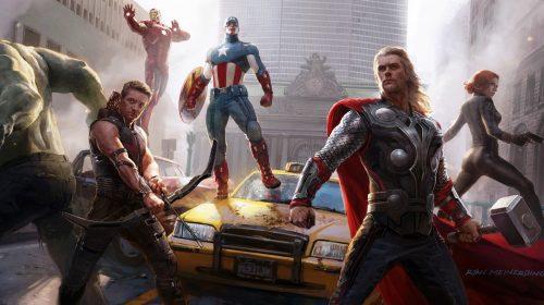 Vem novidades? Site oficial de Avengers da Square é atualizado