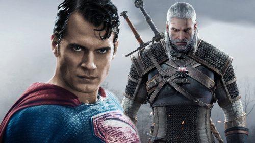 Henry Cavill, o Super-Homem, será Geralt na série The Witcher