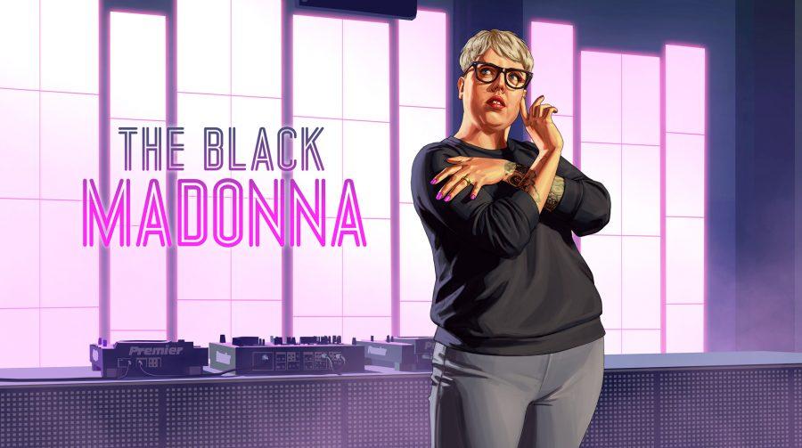 Vai rolar a festa! DJ The Black Madonna acaba de chegar ao GTA V