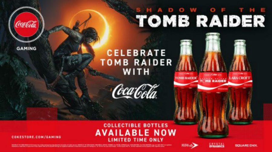 Shadow of the Tomb Raider ganha edições especiais de Coca-Cola