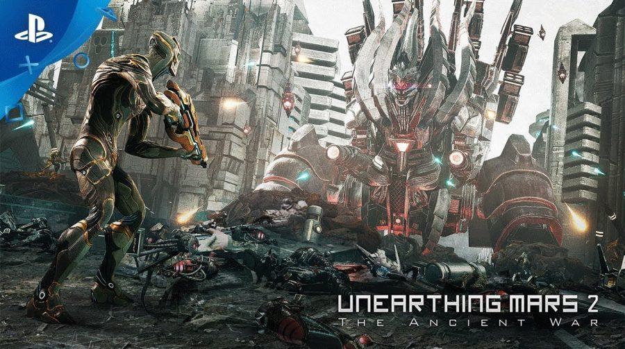 Com suporte para VR Aim, Unearthing Mars 2 chega em setembro ao PS4