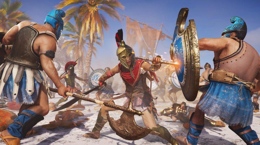Em Assassin's Creed Odyssey é possível aliar-se entre Esparta ou Atenas