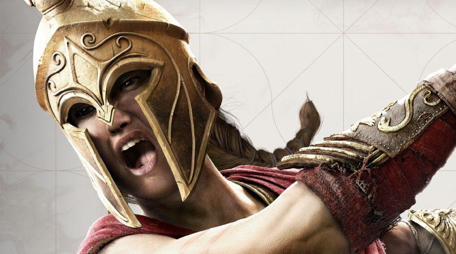 Ubisoft revela capa reversível de Assassin's Creed Odyssey com Kassandra